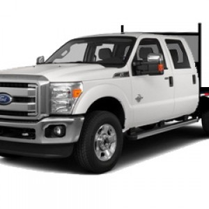 Crew cab Deck truck rentals