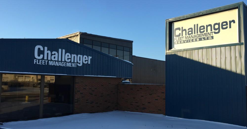 Challenger Fleet Management Location front Edmonton Alberta OIlfield Rentals